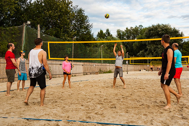 Volleyballspielen - Get Together bei der German eTrade GmbH