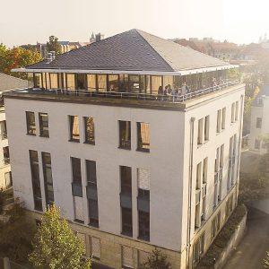 Bürogebäude der German eTrade GmbH in Dresden